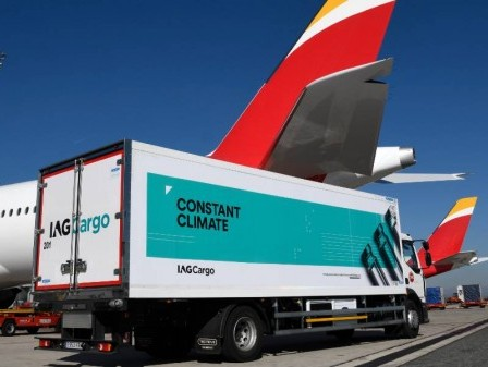 IAG Cargo transports over a million Covid-19 vaccine doses worldwide