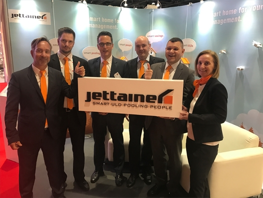 Jettainer unveils its makeover at IATA WCS 2017