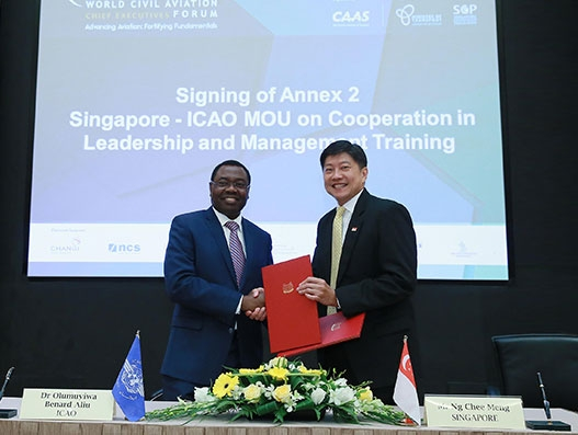 Singapore partner with ICAO to develop global Civil Aviation