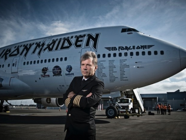 Iron Maiden's Dickinson hard at work to introduce a freighter in Djibouti