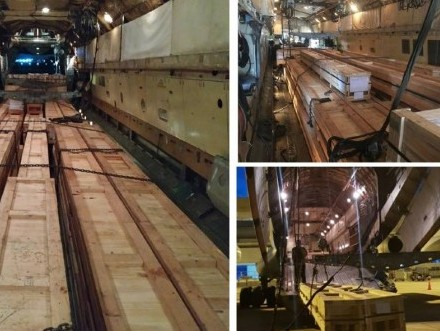 ISS GF Qatar, Chapman Freeborn team up to deliver urgent material for project in Qatar