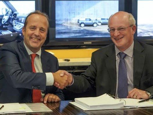 Jaguar Land Rover renews partnership with DHL Supply Chain