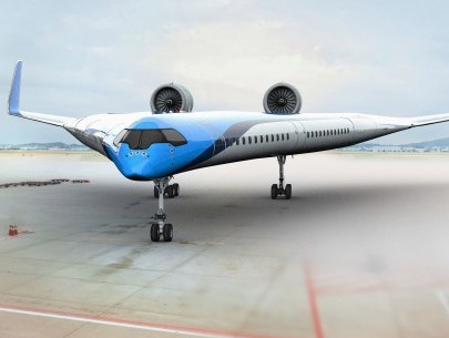 KLM's Flying-V model takes first test flight
