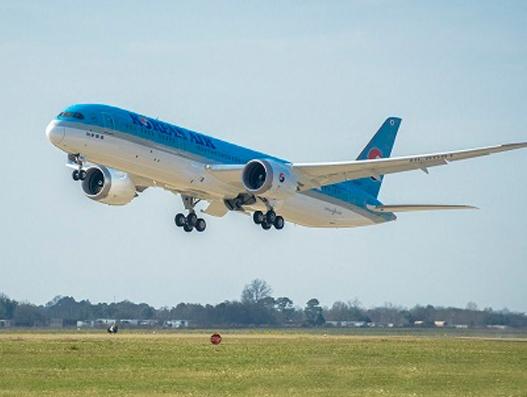 Boeing Delivers Korean Air's First 787-9 Dreamliner