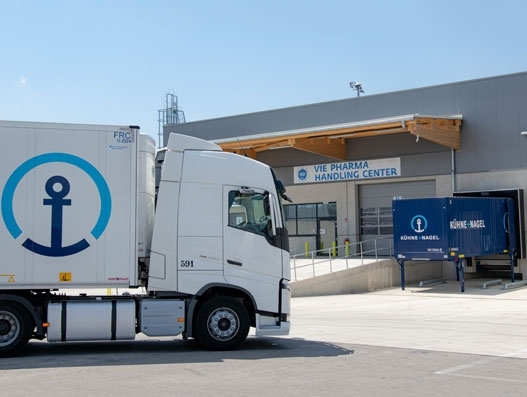 Kuehne + Nagel is Vienna airport's preferred partner for pharma freight
