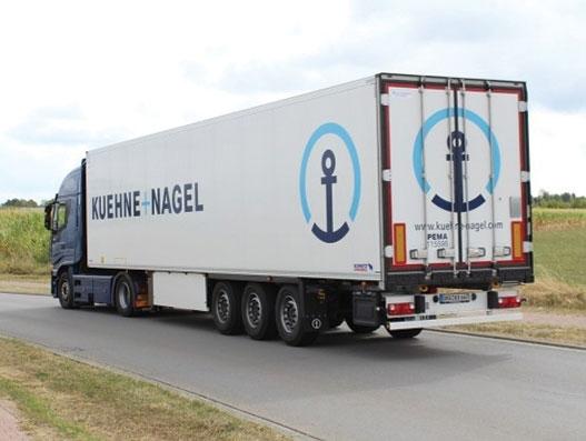 Kuehne + Nagel invests in new European overland pharma fleet
