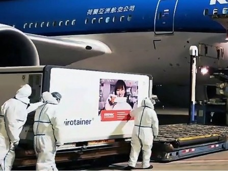 Kuehne+Nagel helps transport Sinovac Covid-19 vaccine from Beijing to Dominican Republic