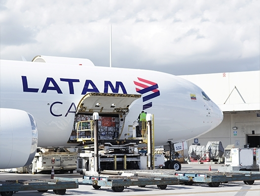 LATAM Cargo launches new route between Santiago de Chile and Chicago