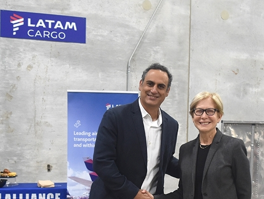 LATAM Cargo makes its first flight into and out of Chicago