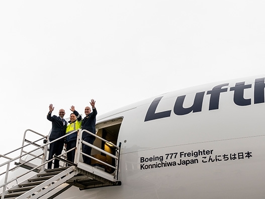 Lufthansa Cargo takes delivery of sixth B777 freighter