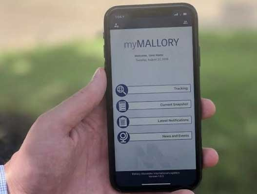 Mallory Alexander launches app to offer shippers full supply chain transparency