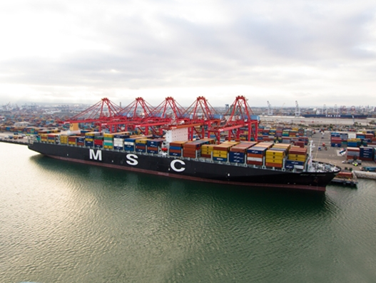 Port of Long Beach's cargo traffic surges in January