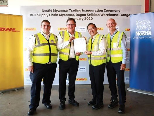 Nestlé chooses DHL Supply Chain to manage Myanmar operations