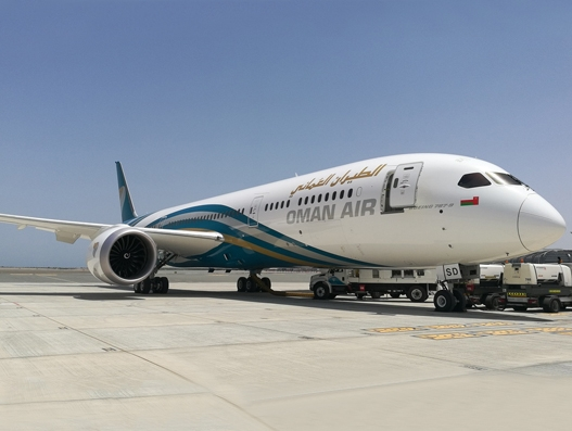 Oman Air adds new B787-9 to its fleet