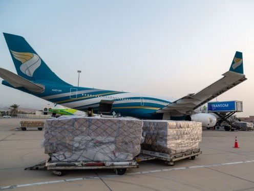 Oman Air chartered 69 cargo-only flights for Oman