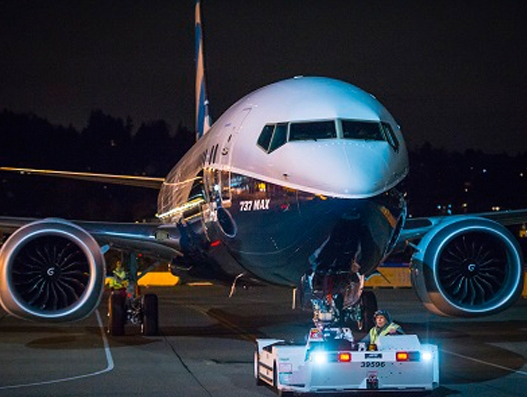 Boeing's 737 MAX 9 makes its debut