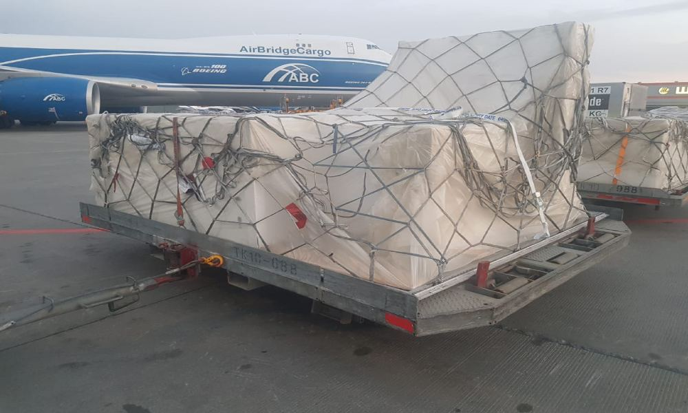 AirBridgeCargo moves over 200 museum showpieces from Moscow to Hong Kong