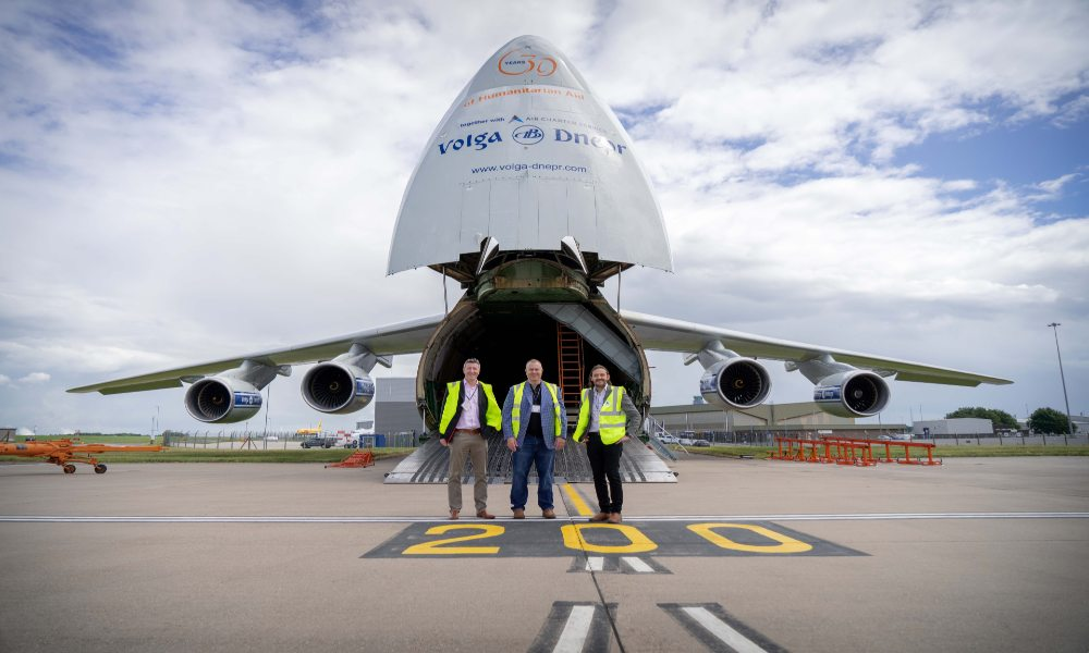 Air Charter Service and Volga-Dnepr Airlines celebrate 30 years of  relief charters