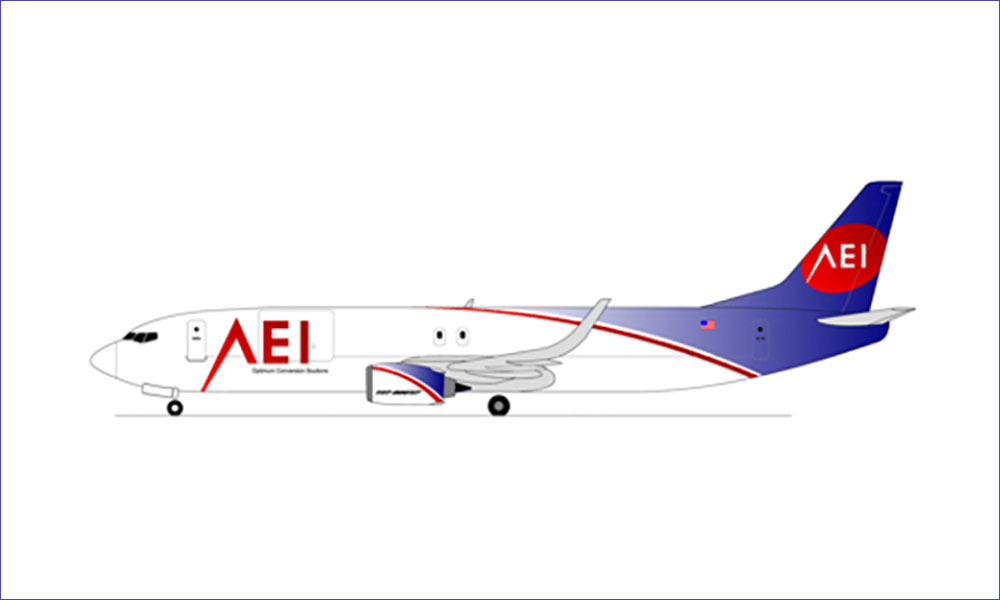 AEI to provide four B737-800SF freighter conversions to Aero Capital Solutions