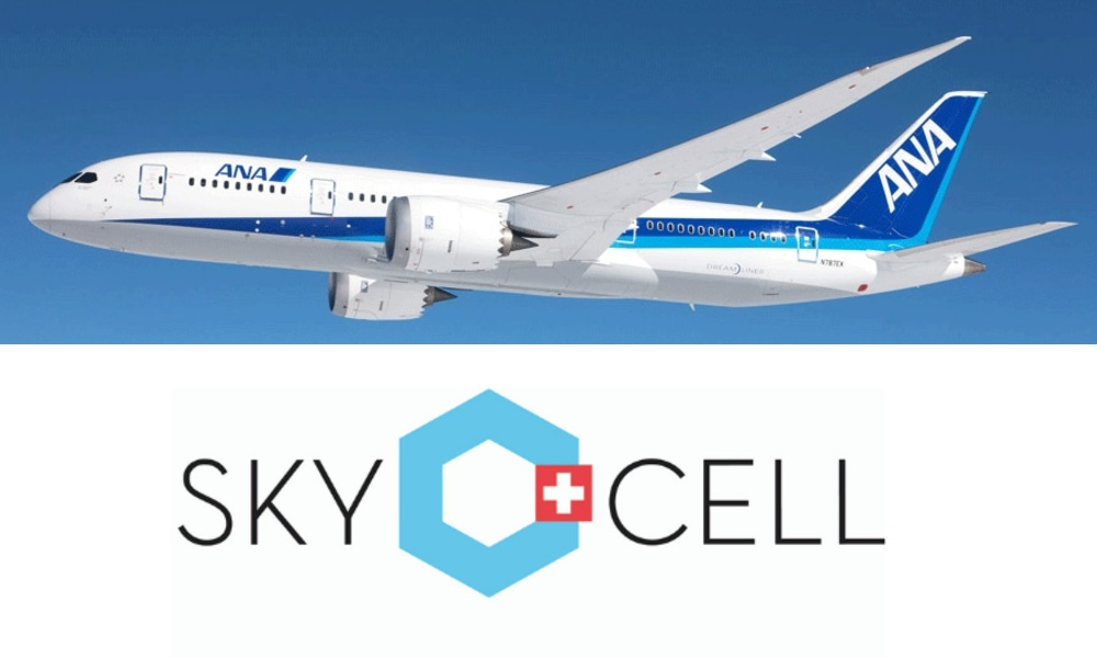 All Nippon Airways and SkyCell to support Japan import needs