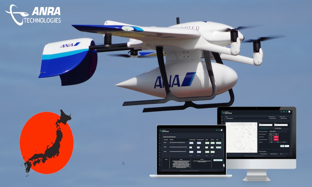 ANRA collaborate with ANA and other partners to enter Japanese Market
