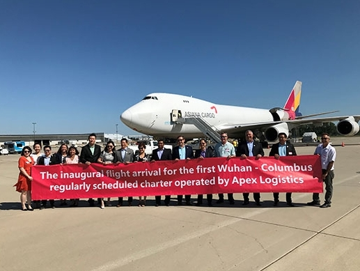 APEX partners with Asiana Cargo to introduce Rickenbacker freighter services