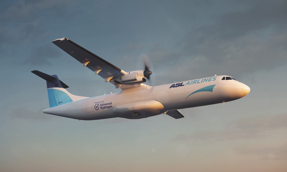 ASL Aviation Holdings sign LOI with Universal Hydrogen