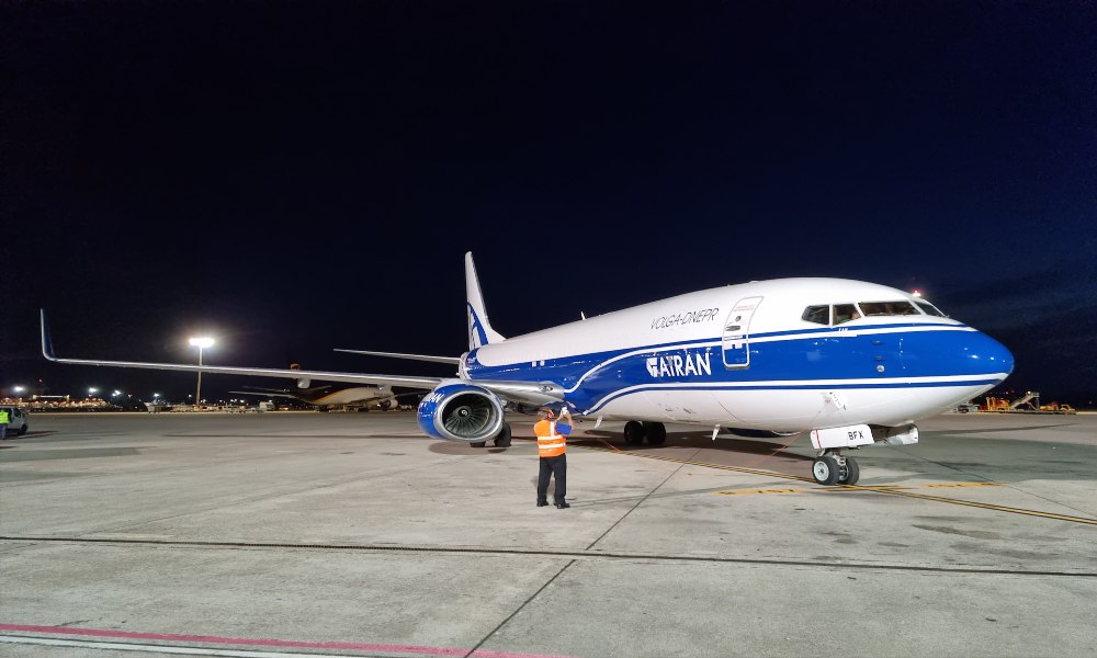 ATRAN Airlines delivers 42,640 boxes with one-day-old chicks from Spain to Russia