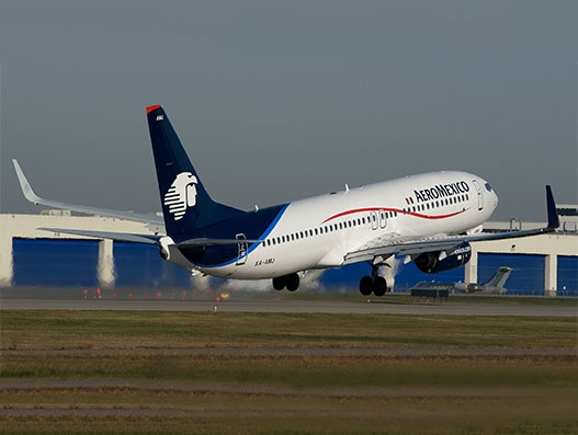 Aeromexico starts service to Calgary, Canada from Mexico City