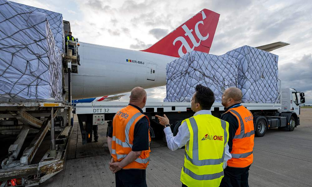 Air One Aviation generates 145 million kilos of bookings for 747 Full Charters