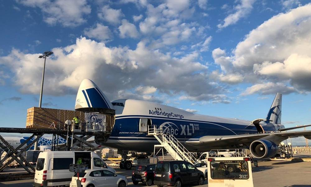 ABC Airlines' Boeing 747-8F nose-loading capability helps deliver 16-meter long equipment