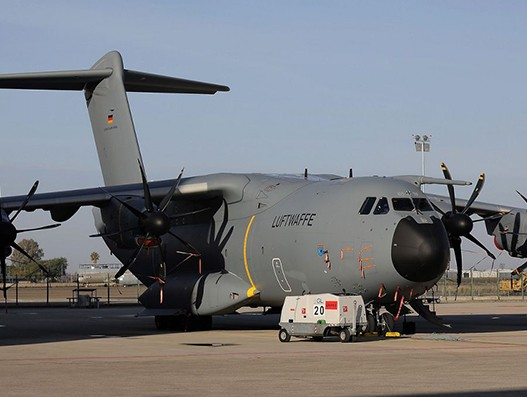 German Air Force gets its 15th Airbus A400M Atlas military workhorse aircraft