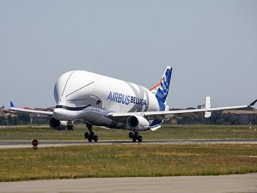 Airbus BelugaXL completes maiden flight