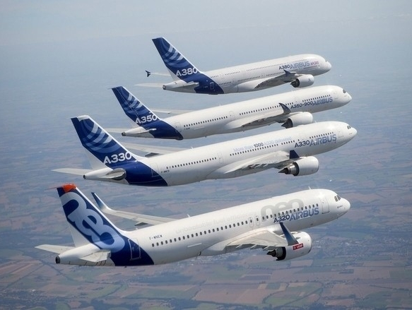 Airbus sets record delivery of 718 aircraft to 85 customers in 2017
