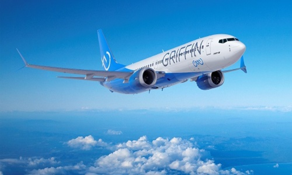 Aircraft lessor Griffin Global Asset Management orders five Boeing 737-8 Jets