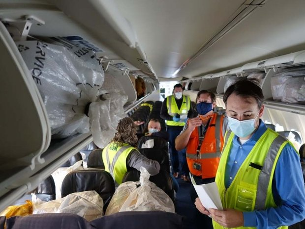 Alaska testing cabins for cargo to revive capacity