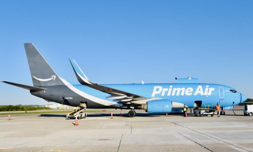 Amazon Air launches daily cargo service at Pittsburgh International Airport
