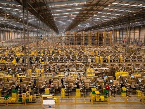 Amazon is driven on taking more than 5 million sq ft of space than it did in 2018 and has acquired more space in UK market so far in 2020 than it did in the whole 2019.