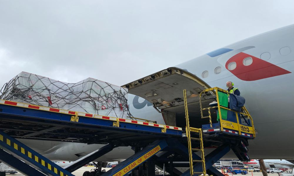 American Airlines distributes 1.5 million Covid-19 vaccines globally