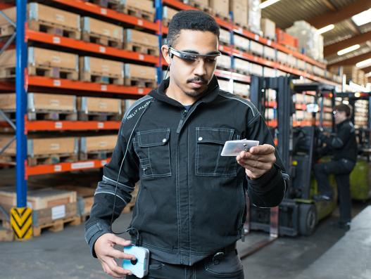 Arvato backs smart glasses for order-picking at Sennheiser