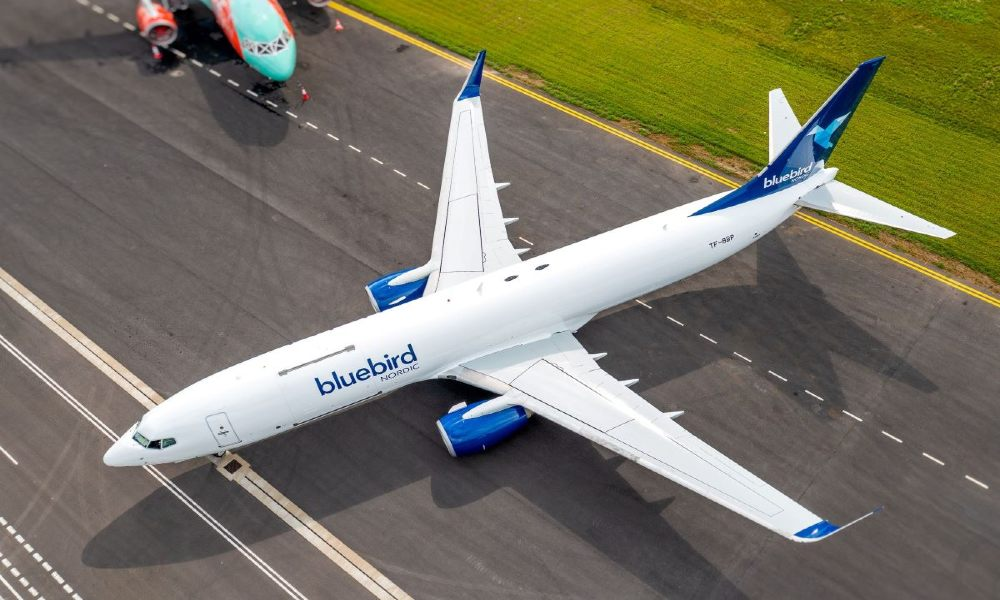 AviaAM leasing delivers its first 737-800 Boeing Converted Freighter to Bluebird Nordic