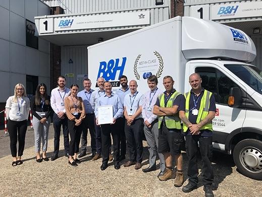 B&H Worldwide passes BSI audit