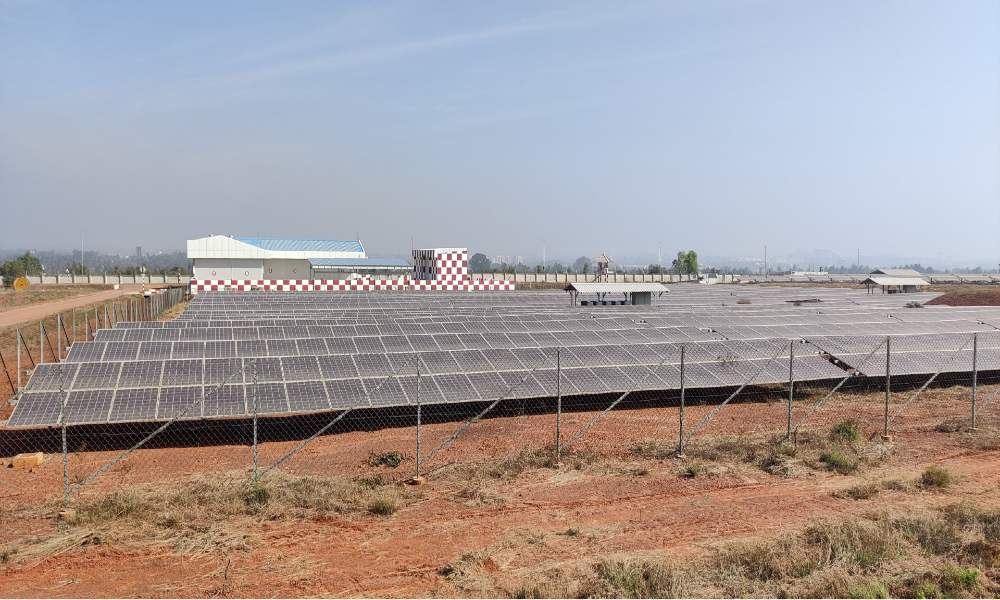 BLR Airport achieves ambitious goal of turning net energy neutral during FY2020-21