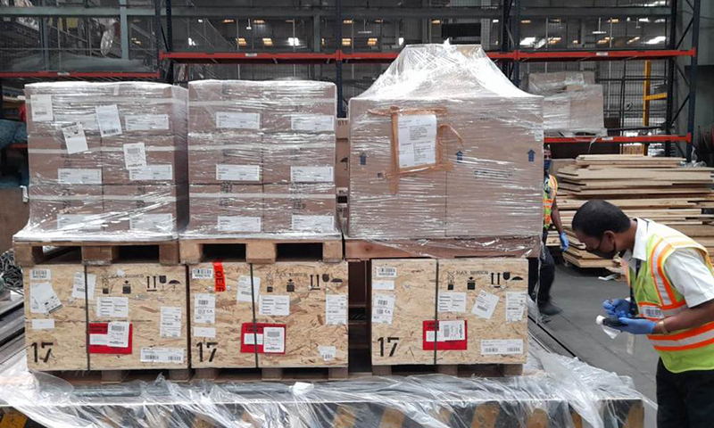 BLR Airport processes 650,225 kgs of Covid-19 relief material
