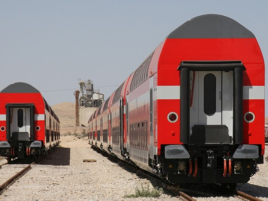 Bombardier to provide 54 double-deck coaches to Israel Railways