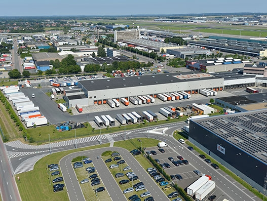 BRUcloud's Customs Export App facilitates the export flow at BRUcargo