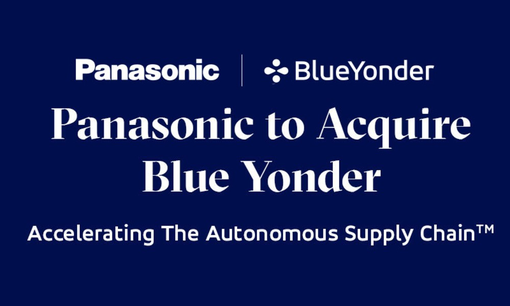 Panasonic to acquire US supply chain software firm Blue Yonder for $7.1 billion