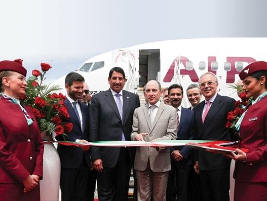 Air Italy's Boeing B737 Max debuts in Italian soil