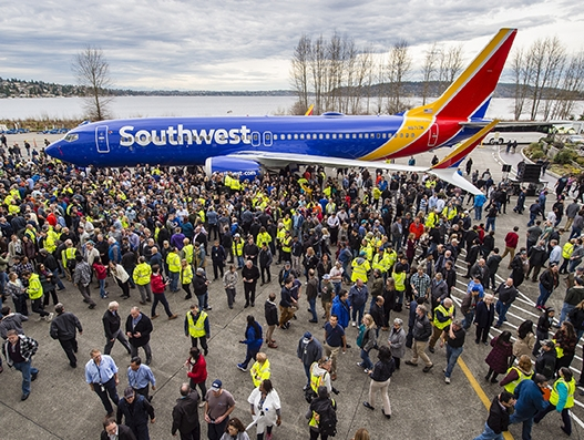 Boeing sets 'Guinness World Records' for producing 10,000 737 jetliners