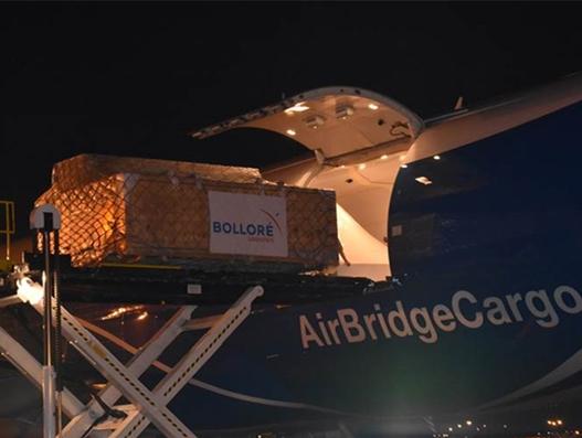 Bollore Logistics Dallas in major aircraft charter operation to Russia